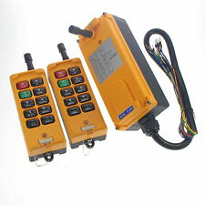 10Channel 2 Transmitters 4 Motion 1Speed Hoist Crane Truck Remote Control System
