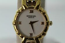 RAYMOND WEIL GENEVE GOLD PLATED WOMEN WATCH MODEL 3747