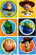 Classic Toy Story Stickers x 6 - Disney - Birthday Party Supplies & Favours GIFT
