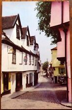 Old Postcard: Norwich, Elm Hill Craft Shop Norfolk 1967 Cotman Color Jarrold