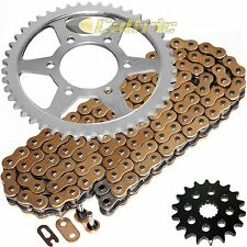 Golden O-Ring Drive Chain & Sprockets Kit Fits KAWASAKI ZX1200 Ninja ZX12R 00-06