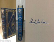 LTD Signed First Edition - Leather w/22kGold - NINE WOMEN - Shirley Ann Grau