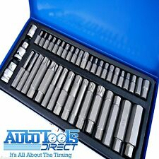 41pc Hex Allen Ribe Spline Star Torx Socket Bit