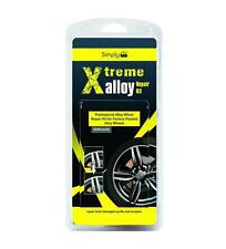 Anthracite Alloy Wheel Rim Repair Kit Professional Refurbish Kerb Damage XAWR3