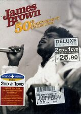 JAMES BROWN 50th Anniversary Concert BOX 1DVD+2CD NEW SEALED