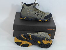 Merrell Men's Moab Ventilator Mid Hiking Shoes Size 10 Boots New Walnut