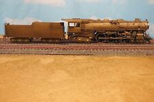 "HO BRASS PFM UNITED MILWAUKEE ""F6A"" 4-6-4 LOCOMOTIVE"