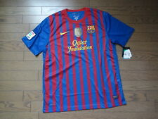 Barcelona 100% Original Jersey Shirt XL 2011/12 Home Still BNWT Champion Patch