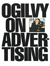 OGILVY on ADVERTISING David SC Graphic Design Art How To