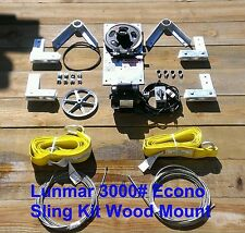3000# ECONO Wood Mount Sling Boat Lift