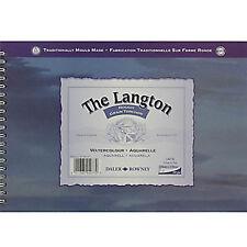 Daler Rowney Langton Acuarelas 140 lbspiral Rough 10x7