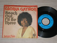 "GLORIA GAYNOR - REACH OUT, I'LL BE THERE / SEARCHIN - 45 GIRI 7"" GERMANY"