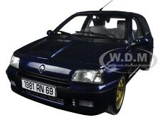 1993 RENAULT CLIO WILLIAMS BLUE 1/18 DIECAST CAR MODEL BY NOREV 185230