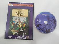 LAS AVENTURAS DE TINTIN EL TEMPLO DEL SOL DVD CASTELLANO ENGLISH HERGE SELECTA