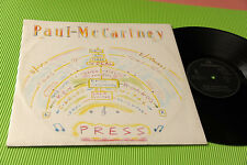 "PAUL MC CARTNEY 12"" PRESS 4 TRACKS ORIG ITALY 1986 EX !!!!!!!!!!"