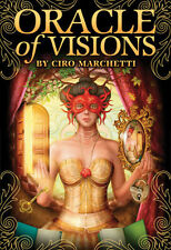 ORACLE OF VISIONS Tarot Kit Card Deck of Cards Divination Book Box Boxed Set