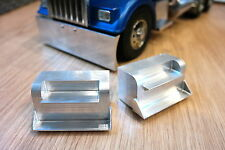 Custom Pair Aluminum Side Step for Tamiya RC 1/14 Semi King Grand Knight Hauler