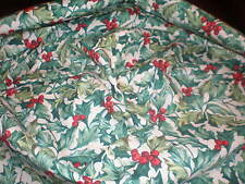 "Longaberger 36"" Fabric Square - American Holly"