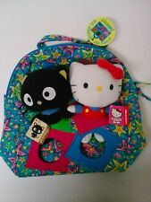 SANRIO HELLO KITTY CHOCO CAT plush doll set & Jackpopz backpack bag toy