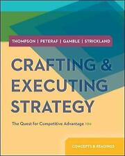 New-Crafting and Executing Strategy by Thompson 19ed INTL ED
