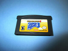 Super Mario Advance 4 Mario Bros. 3 Game Boy Advance SP Game