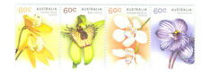 Australia-Orchids-set of 4 (gummed)mnh-4104a -2014-Flowers