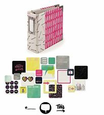 We R memory Keepers 4x4 Ring Album Kit ~ IT FACTOR  -100cards ~62509-4