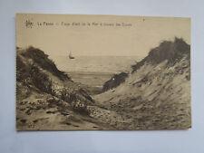 CPSM La Panne coup d'œil de la Mer à travers les Dunes