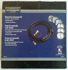 NATURAL GAS CONVERSION KIT DUAL/DUEL FUEL GRILL COMMERCIAL SERIES 4619 CHARBROIL