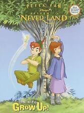 Peter Pan Disney's Return To Never Land Coloring Book & Growth Chart Unused