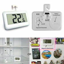 LCD Wireless Digital Thermometer Temperature MeterGauge For Refrigerator Freezer