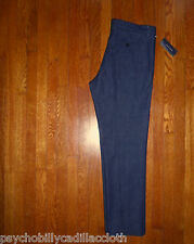 NEW $169 TOMMY HILFIGER 1950s STYLE CONE MILLS DENIM CHINO MADE IN USA 32x30