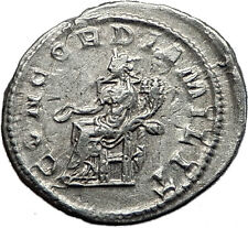 Gordian III 240AD Silver Authentic Genuine Ancient Roman Coin Concordia i59031