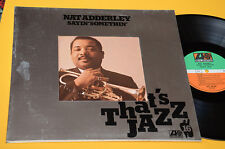 NAT ADDERLEY LP NM GATEFOLD LAMINATED GIMMIXCOVER JAZZ GERMANY 1978
