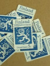 100 USED STAMPS SCOTT #1334 5c Finnish Independence