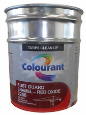 METAL PRIMER UNDERCOAT KILL RUST GUARD ENAMEL PAINT BRAND NEW RED OXIDE 20 LITRE