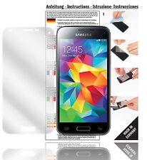 6x Displayschutzfolien für Samsung Galaxy S5 Mini Schutzfolie Klar Folie