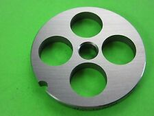 "#5 x 5/8"" (16mm) Large Grind size Meat Chopper Grinder plate disc Chefs Choice"