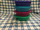 TUPPERWARE New MICROWAVE CEREAL BOWLS w/Seals! 2016 colors