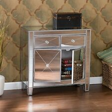 Glam Mirrored Dresser Bedroom Chest Drawers Furniture Nightstand Decor Home Bed