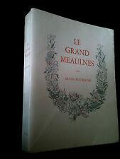 LE GRAND MEAULNES-ALAIN-FOURNIER-ILL. ET AQUARELLE ORIGINALE SIGNÉE DE DIGNIMONT