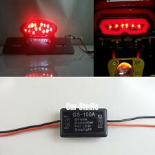 GS-100A LED Brake Stop Light Motorcycle 3-times Strobe Flash Module Controller