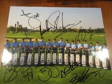 2013 INTERNATIONAL PRESIDENTS CUP TEAM JASON DAY SIGNED 8X10 PHOTO ALG HOLO COA