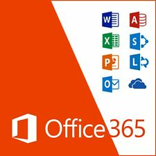 Microsoft Office 365 Personal Subscription for 5 Users Windows or Mac