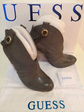 Original Guess Stiefel Stiefeletten Ankle Boots GGREY EUR Gr. 38 size US 7 UK 5