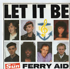 """Ferry Aid - Let It Be 7"""" Single 1987"""