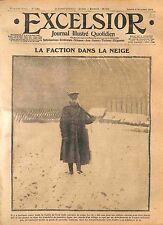 Sentinelle Faction Soldiers Tommy bataille de l'Yser Flandres  WWI 1914