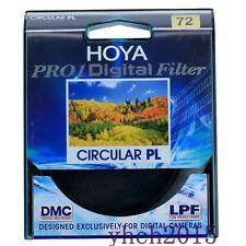 New Genuine Hoya Pro1 72mm Digital Circular PL Filter CPL for Canon Nikon Lens