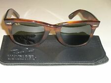 VINTAGE B&L RAY BAN W2244 G15 THICK TORTOISE OLYMPIC GAMES WAYFARER SUNGLASSES