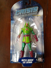 DC direct CRISIS ON INFINITE EARTHS BATTLE ARMOR LEX LUTHOR FIGURE SERIES 2 NIP